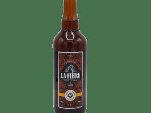 la fière bière blonde artisanale triple