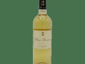 vin blanc Ollieux Romanis Corbières