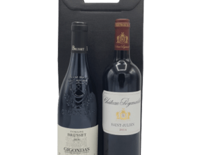 Duo Prestige Vin Rouge Le Goût des Vins Gigondas Saint-Julien