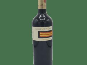Vin rouge Costières de Nîmes Chateau d'Or et de Gueules Trassegum