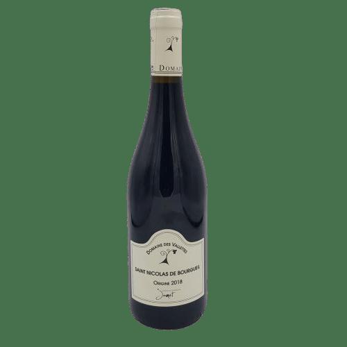 Saint Nicolas de Bourgueil Domaine des Vallettes Loire Rouge
