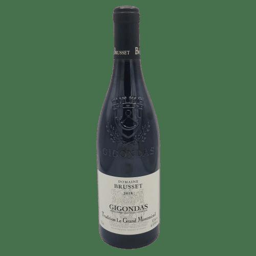 Gigondas Domaine Brusset Tradition Le Grand Montmirail 2018