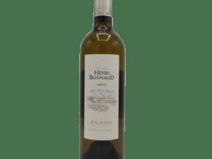 AOC Palette Blanc Henri Bonnaud