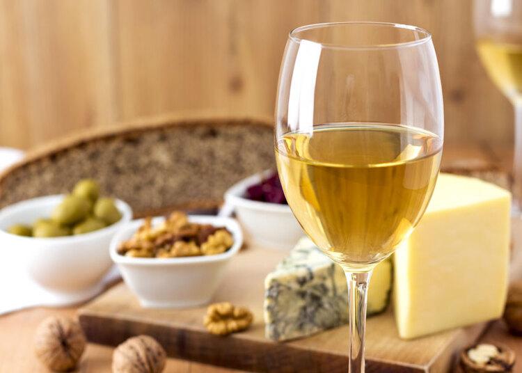 Vin blanc fruité et aromatique